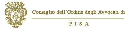 Logo Ordine Avvocati Pisa